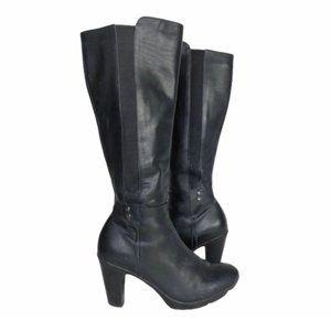 Blondo 7.5 Waterproof Leather Heeled Boots